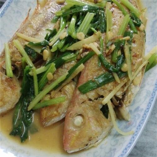 豆酱金线鱼