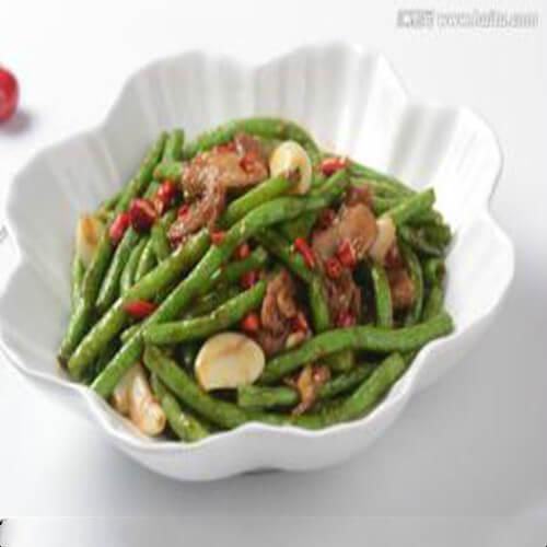 DIY-腊肉炒豆角