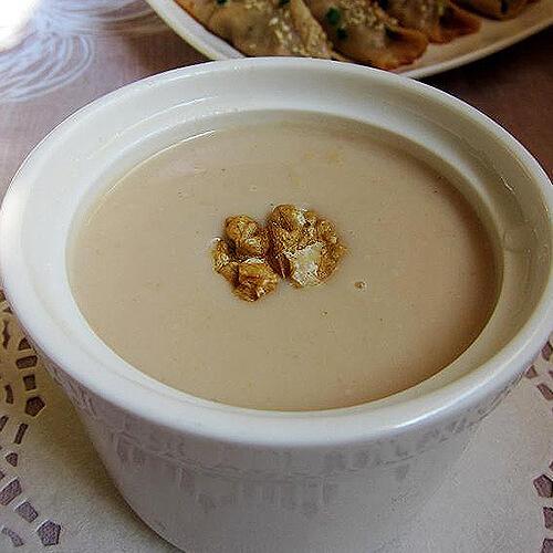 小米面核桃粥