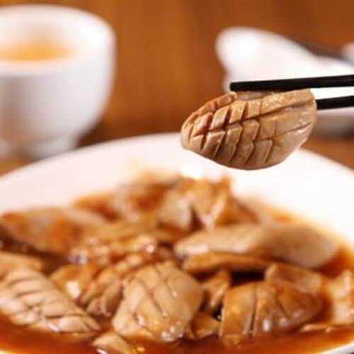 黑麻油老姜米酒腰花