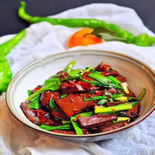 猪血炖白菜