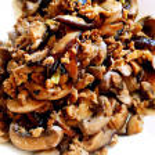 蚝油香菇油面筋