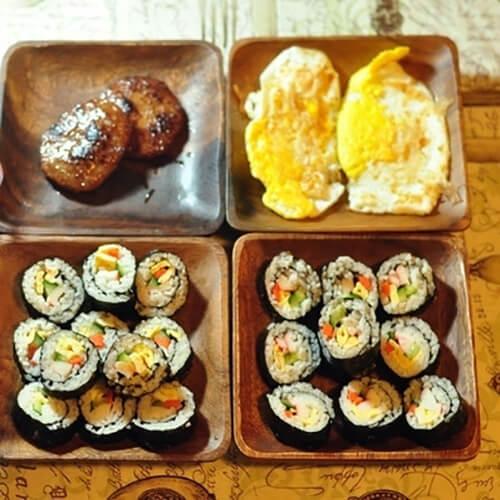 玉米青豆寿司