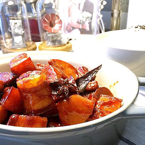 红蘑炖红烧肉
