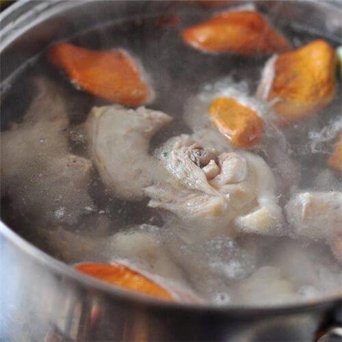 榴莲核炖鸡肉