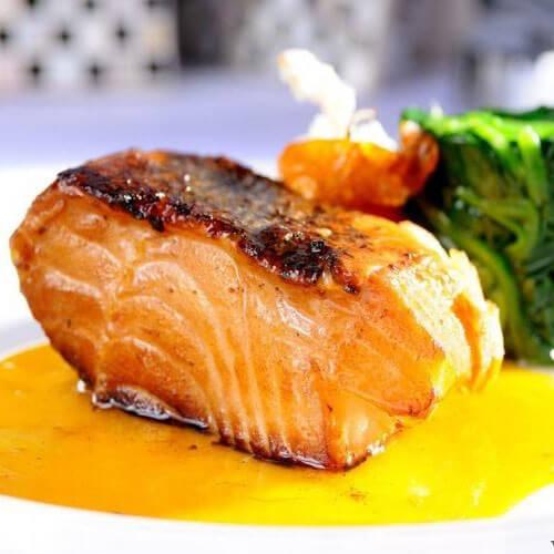 洋葱鳕鱼扒