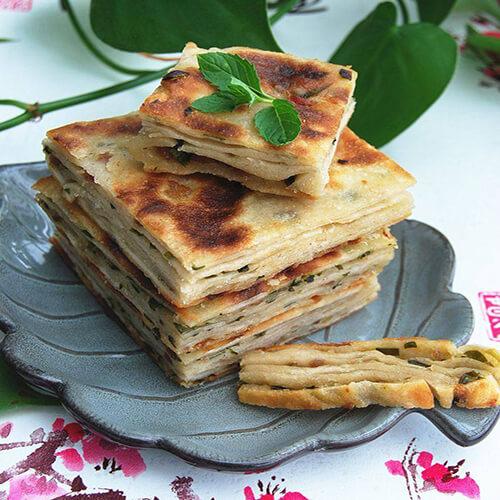 茴香千层饼