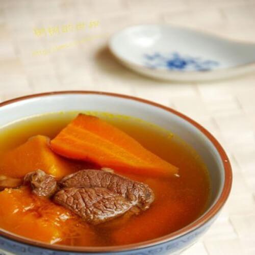 红萝卜南瓜浓汤