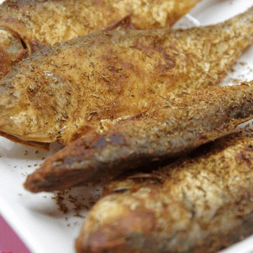 酥炸海鲫鱼
