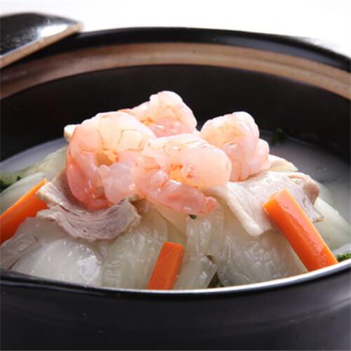 大白菜炖虾