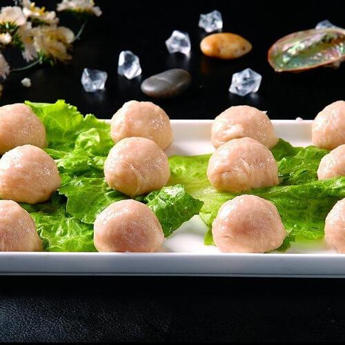 咖喱土豆鸡肉丸