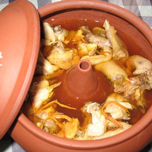 云南汽锅鸡