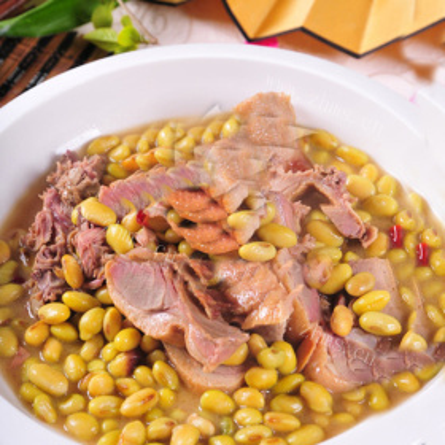 咸鸭黄豆汤