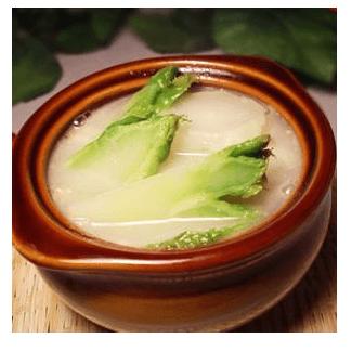 浓汤煮儿菜