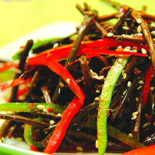 韩式拌蕨菜