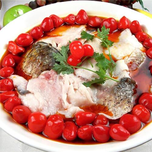 西红柿炒鱼片