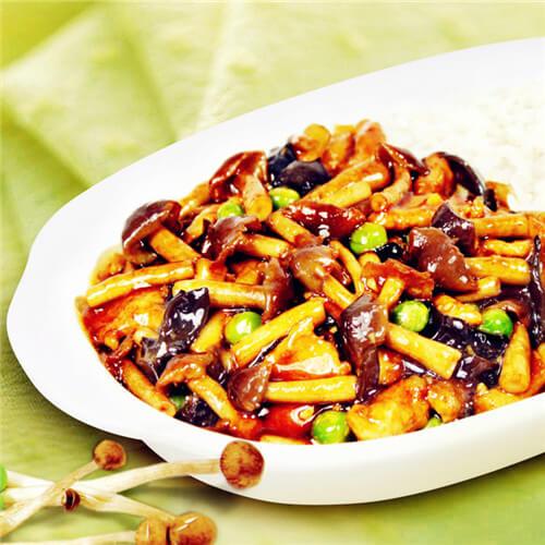 酱炒凤尾菇