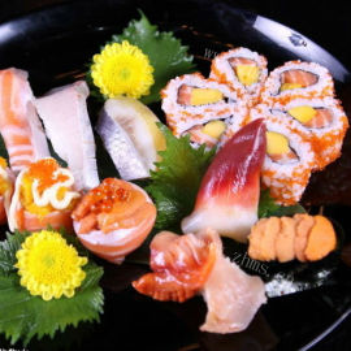 综合寿司拼盘