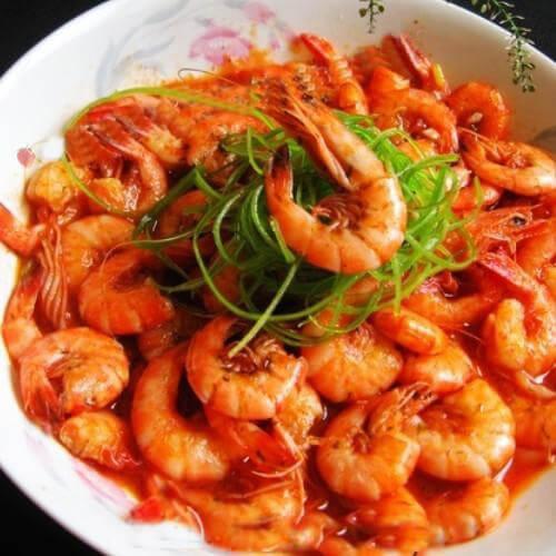 香草美极虾