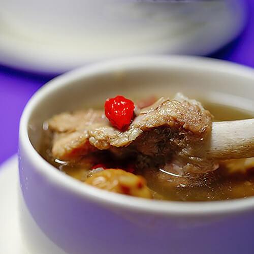 蛏干猪骨汤