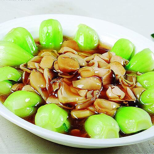 蚝油双孢菇