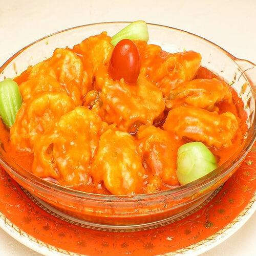 简单番茄酱河粉