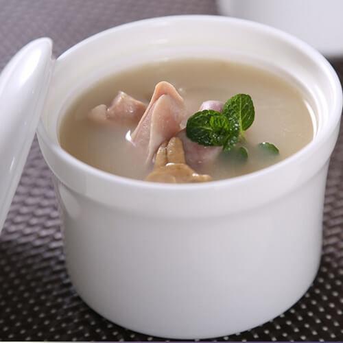 蛏干猪肚汤