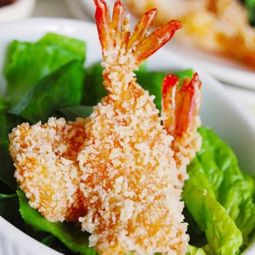 姜汁琵琶虾