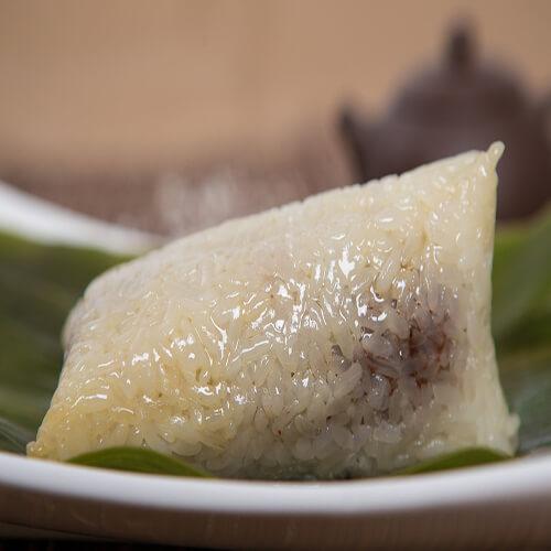 豆沙龙舟粽