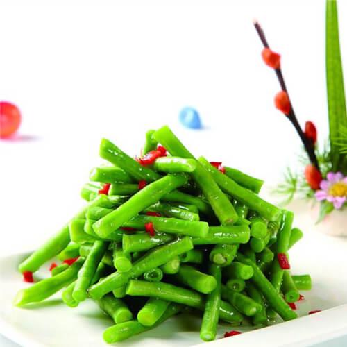青椒炒豇豆