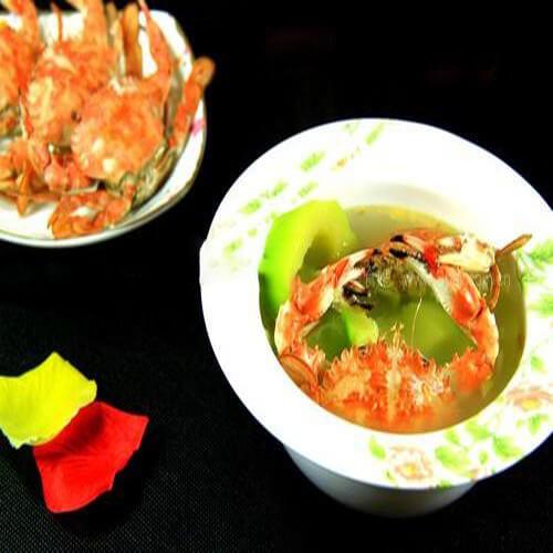 苦瓜小蟹汤