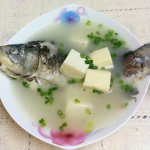 奶白豆腐鳜鱼汤