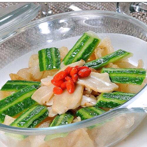 咸肉秀珍菇煮长瓜