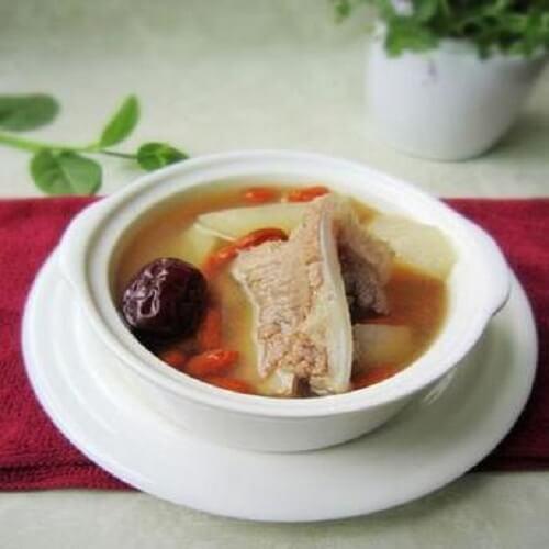扇骨萝卜汤