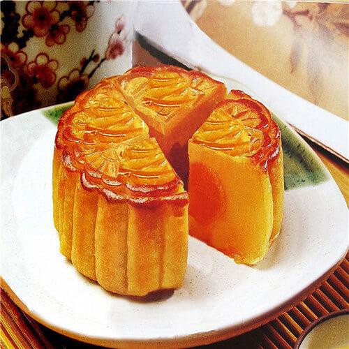 广式细沙果仁月饼