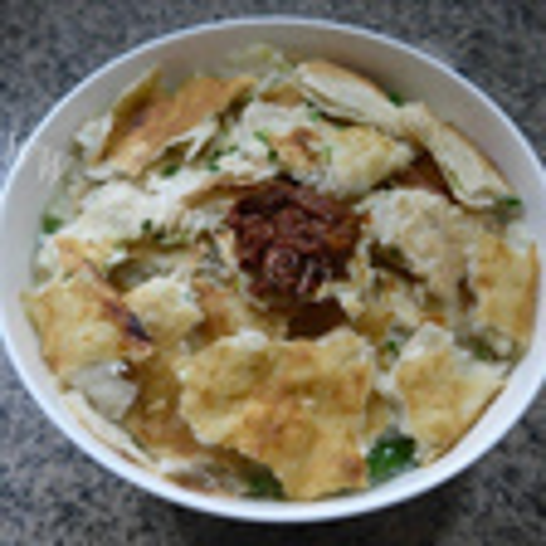 牛肚油菜蕻泡饼