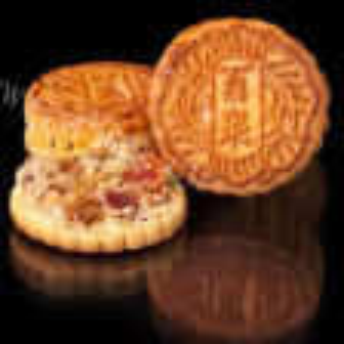 苏式百果月饼