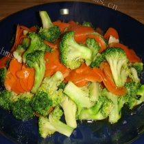 花椰菜炒胡萝卜