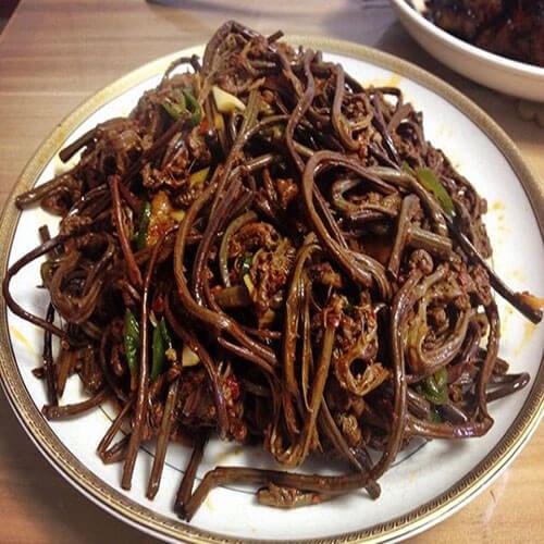 朝鲜族拌蕨菜