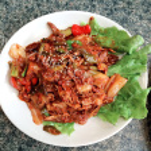 韩式泡菜风味烧
