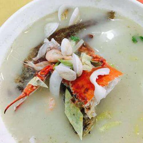 味道不错的娃娃菜平菇蛤蜊汤