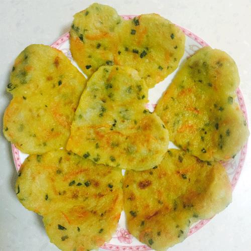 土豆芋泥饼