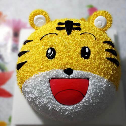 小老虎蛋糕