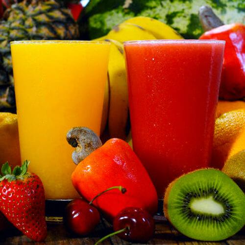 在家做的酸甜果蔬汁