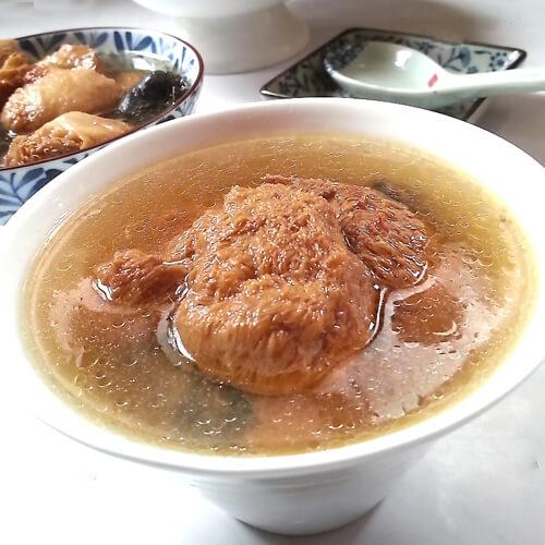 猴头菇虫草乌鸡汤
