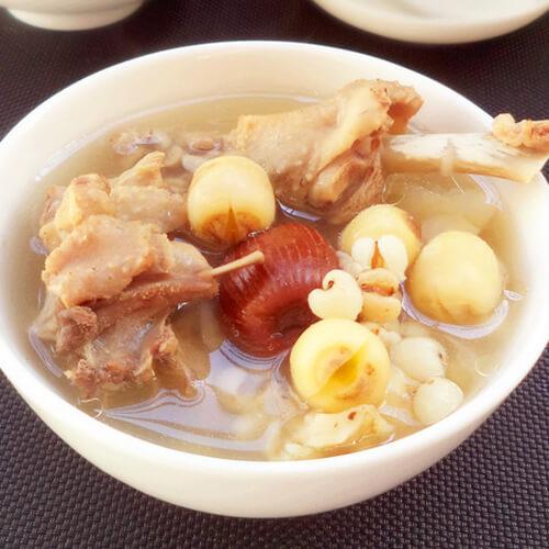灯芯草炖鸭心汤