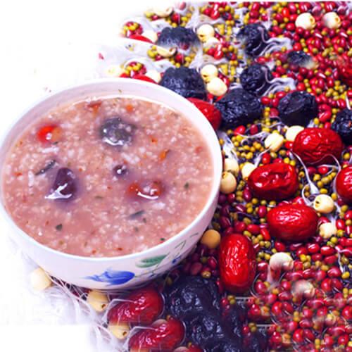 乌梅茯苓冰粥