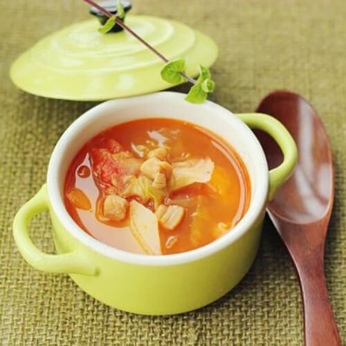 西红柿杂蔬汤
