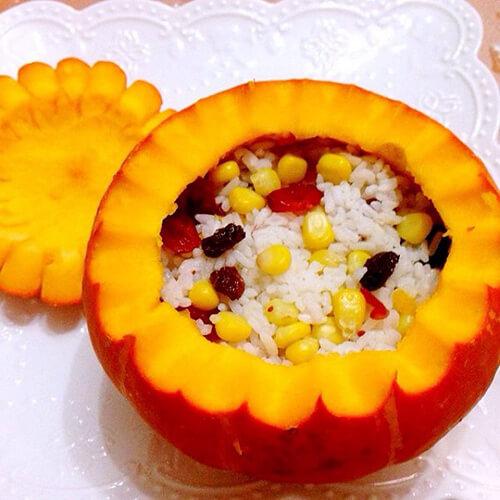 南瓜米饭(海绵宝宝体