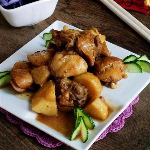 鸡块烧土豆